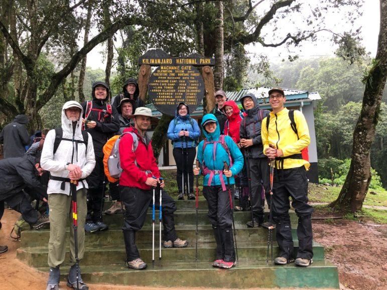 Climbers set out to summit Kilimanjaro
