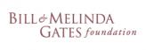 Bill and Melinda Gates Foundation logo.