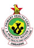 Zimbabwe Ministry of Health Logo.