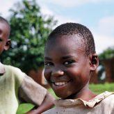 Rwandan Children smiling